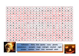 word search ~halloween - WITH SOLUTION.doc