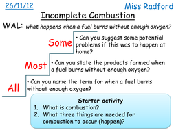 C1.1 Incomplete combustion for SEN