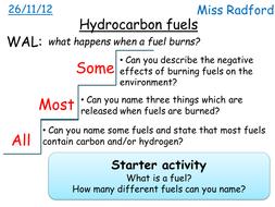 C1.1 Hydrocarbon fuels for SEN