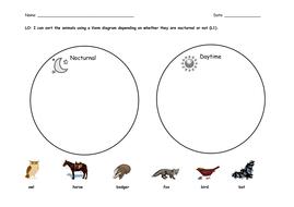 Animals venn diagrams by katharine7 teaching resources tes animals venn diagrams ccuart Images