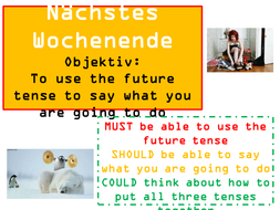 GCSE German - My Family (future)