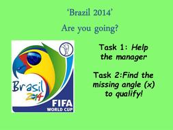 Rio 2014 Angles Quiz