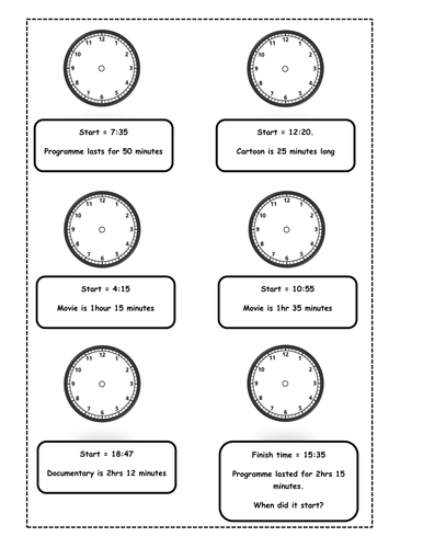 Free Worksheets » Time Worksheets Am Pm - Free Math Worksheets for ...
