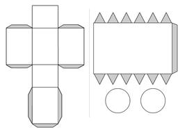 3d Shape properties & nets