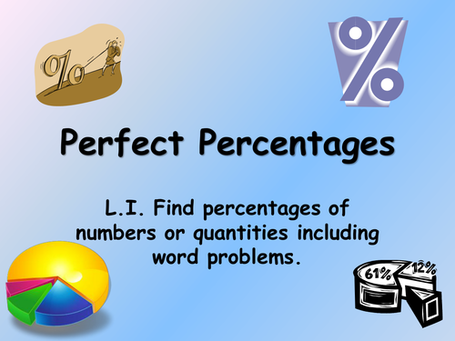 Exciting percentages powerpoint for Year 5 by Nmarwood - Teaching ...